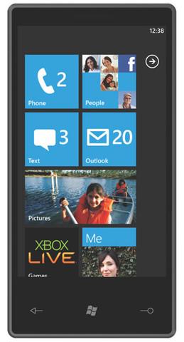 Microsoft Windows phone 7 released