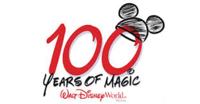 Celebration of Walt Disney's 100th birthday
