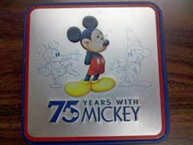 Mickey Mouse turns 75!