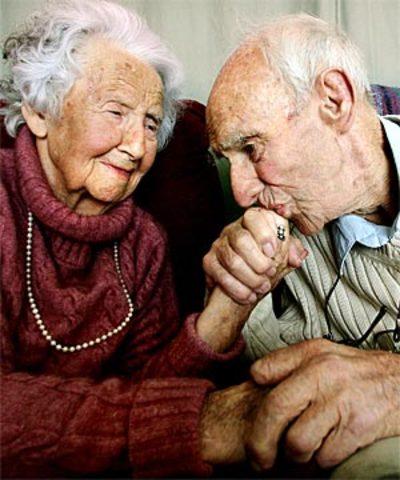 Aging towards Death