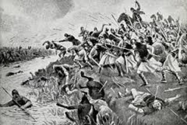 Battle of Heavenfield.