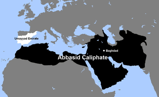 Beginning of Abbasid Caliphate.
