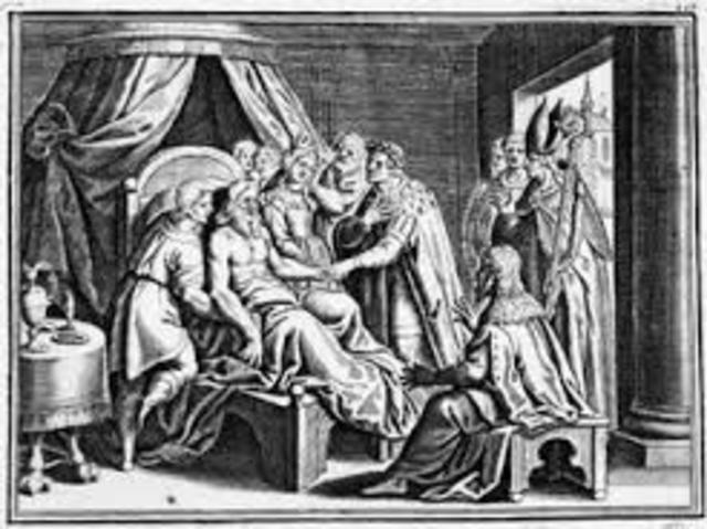 Death of Charlemagne.