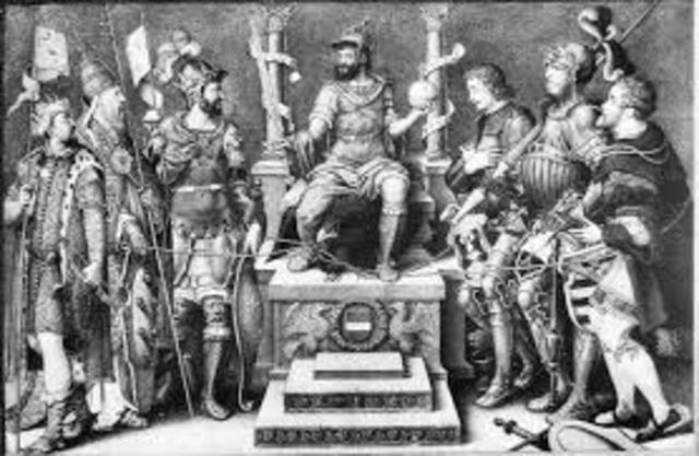 Charles V want to suppress Lutherians
