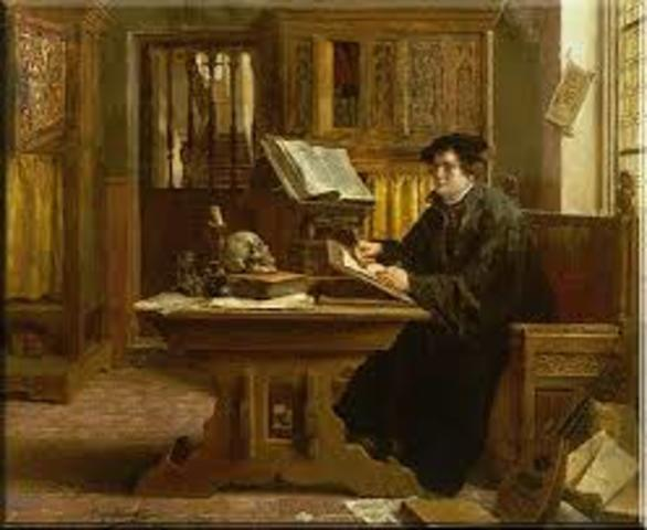 Luther Organizes the chuch