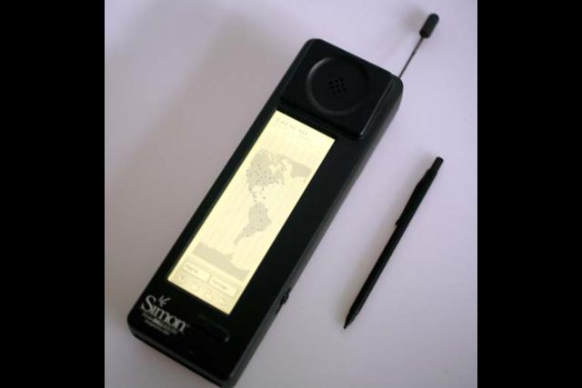 Le premier smartphone (IBM Simon
