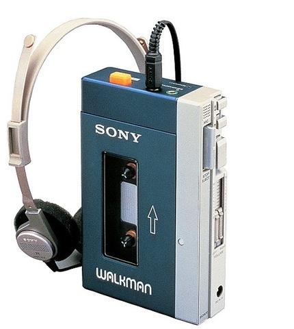 Le premier balladeur(Walkman)