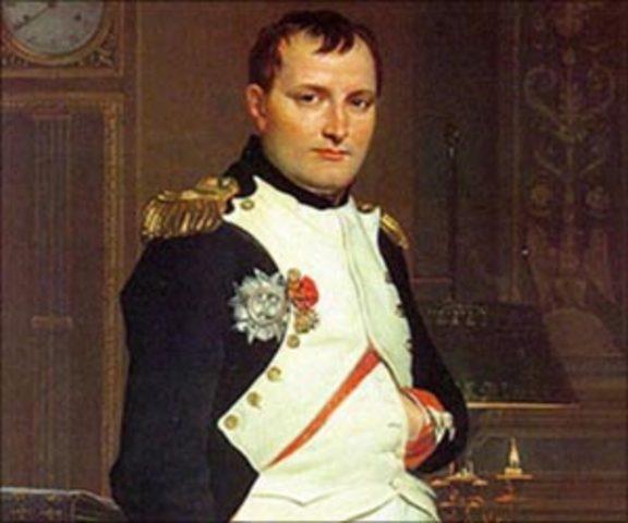 Napoleon Bonaparte is born