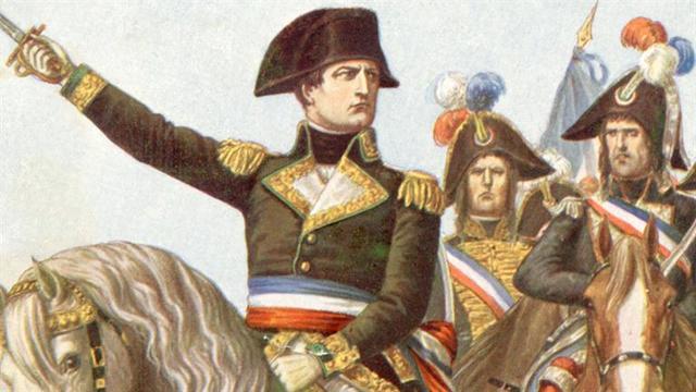 Napoleon receives rank of Bridadier General