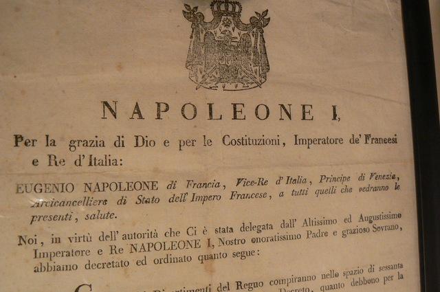 Milan Decree signed
