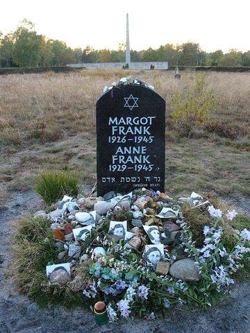 Anne Frank dies