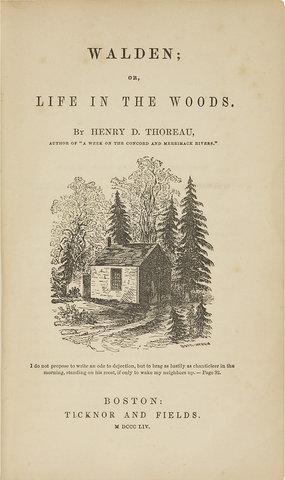 Walden by Henry David Thoreau