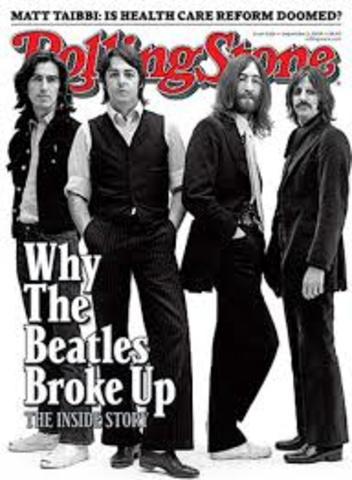 The Beatles have broken up