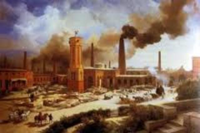 Growth of Cities during the Industrial Revolution
