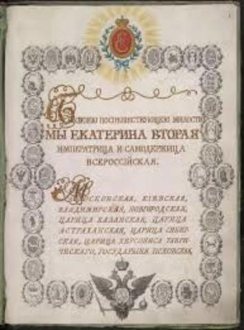 Charter of Nobility