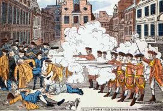 Boston Massacre and the Tea Party