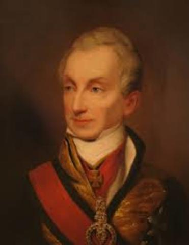 Austrian Prince Metternich