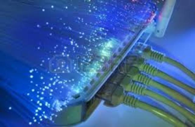 Inicios de la fibra óptica y de Arpanet