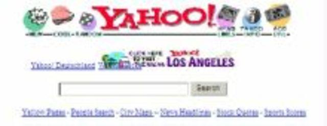 Yahoo uno de los primeros directorios