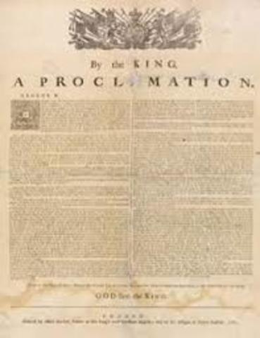 Proclomation of 1763