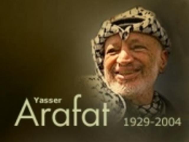 Yasser Arafat dør
