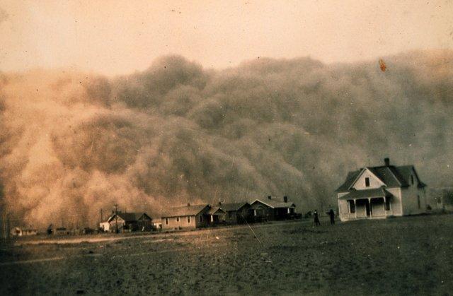Dust Bowl blows through