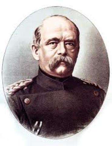 Bismarck becomes Prime Minister