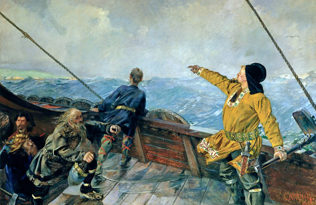 Leif Ericson is to settle during the winter in present day Canada at L'Anse aux Meadows.