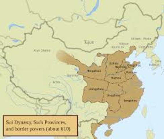 Sui Dynasty in China