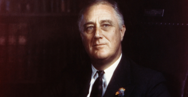 Dealth of Franklin D. Roosevelt.