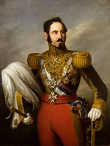 Generales isabelinos, entre ellos Espartero, acaban con el cerco carlista de la ciudad de Bilbao