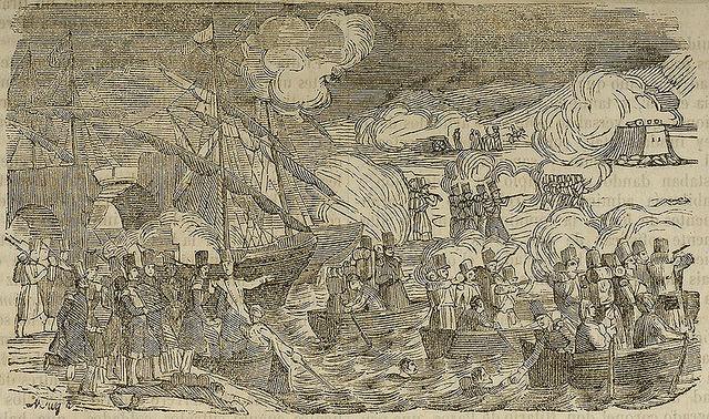 Se reúne el ejército isabelino con el general Espartero; se inicia la Batalla de Luchana