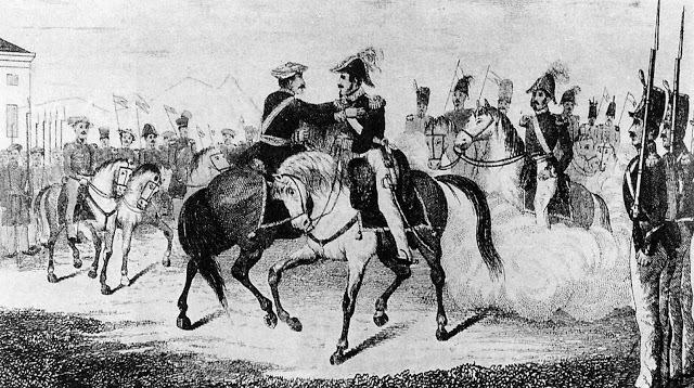 Abrazo de Vergara; fin de la Primera Guerra Carlista