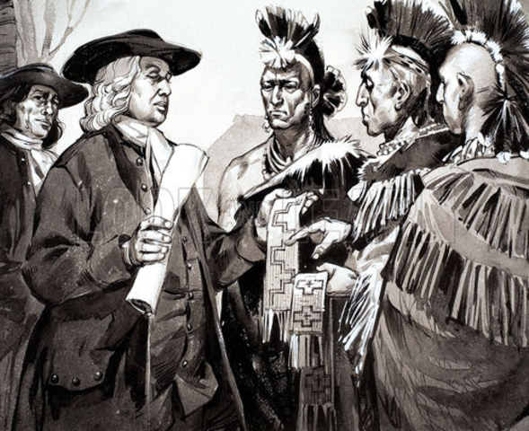 Power relations between Amerindians and colonial administrators
