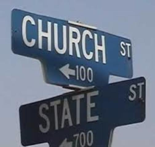 Power relations between the Church and the State