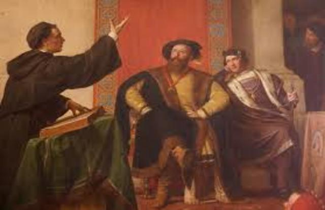 Luther translates the New Testament in German