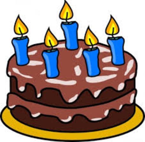 Mi fecha de cumpleaños