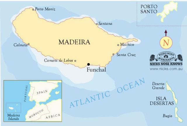 Открытие острова Мадейра