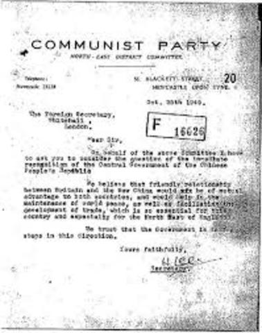 Anja is suspected of being a communist