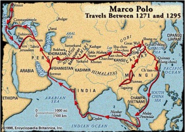 Путешествия Марко Поло (1271-1295)