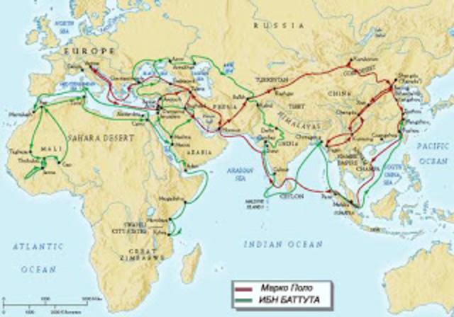 Путешествия Ибн-Баттута (1324-1353)