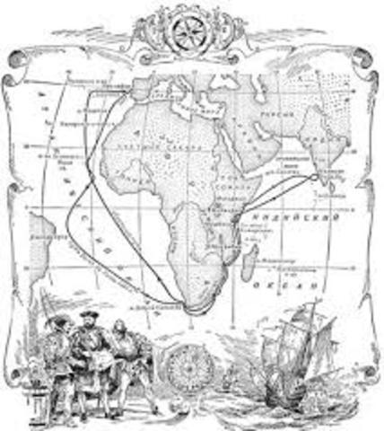 Открытие морского пути в Индию. Васко да Гама