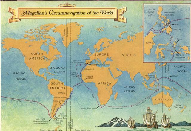Первое кругосветное путешествие (1519-1522)