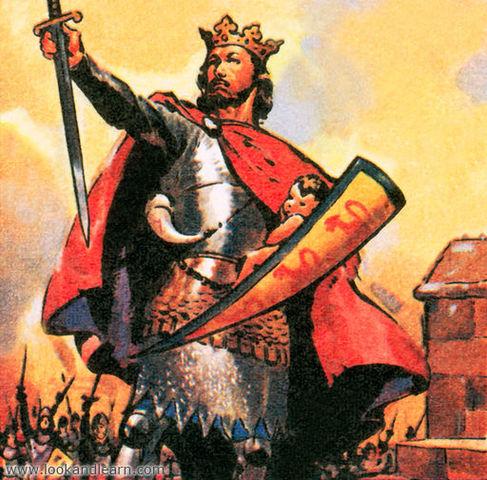 Edward I of England invades Scotland