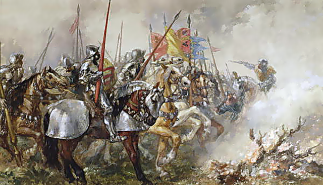 The Hundred Years' War begins. England and France struggle for a dominating position in Europe and their region.