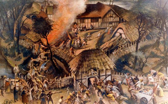 Peasants' Revolt in England.