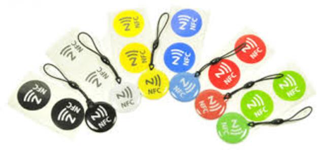 étiquette NFC