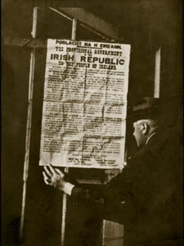 Провозглашение независимости 26 южных графств Ирландии