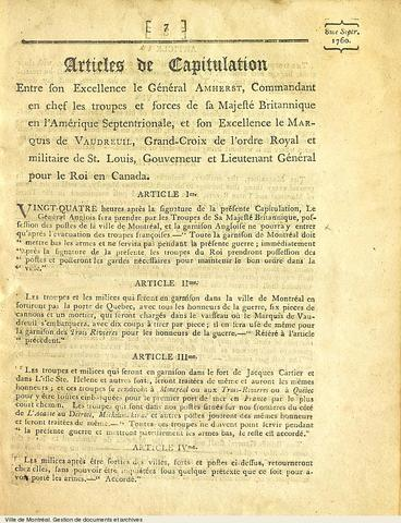 Articles of Capitualtion