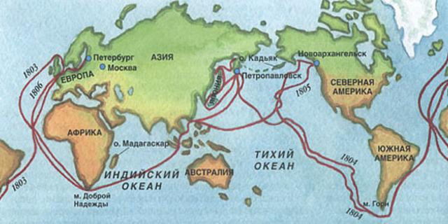 Первое русское кругосветное путешествие (1803—1806)